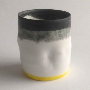 Tiny Pot with Yellow  II