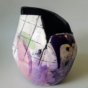 Medium Purple Open Vessel