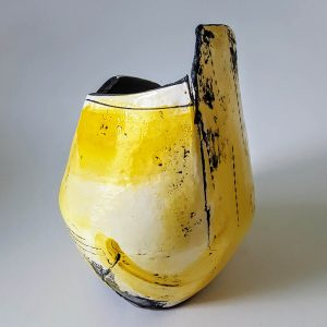 Medium Yellow Open Vessel