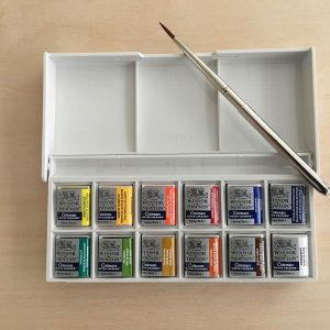 Windsor & Newton Sketcher's Watercolour Pocket Box