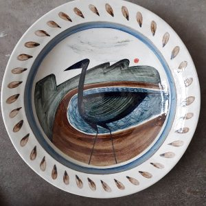 Round Bowl 'Estuary Bird'