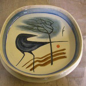 Tripod Bowl 'Landscape'