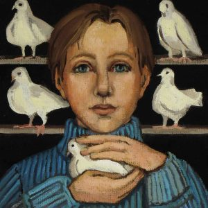 Boy with Dove