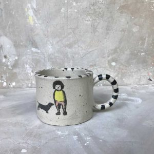 Boy and Dog Mug 2
