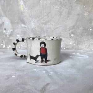 Boy and Dog Mug 1