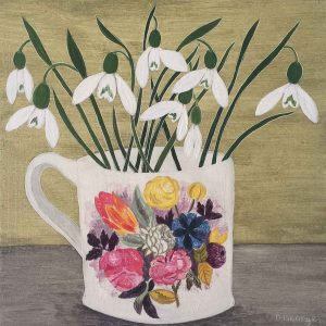 Norfolk Cup and Snowdrops