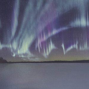 Auroral Storm, Lake Inari, Finland 2016