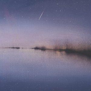 Shooting Star, Dusk, Autumn