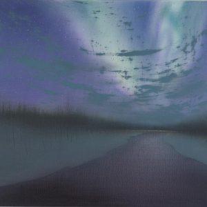 Wilderness Aurora with Cloud