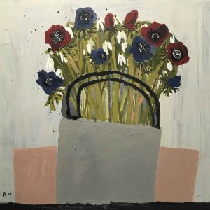 Anemones and Snowdrops