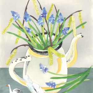 Muscari and Catkins Teapot