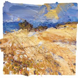Barley Field and Sea