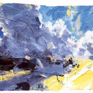 Clouds Climbing, Early Sun (Dartmoor)