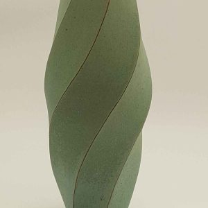 Twist Faceted Vase