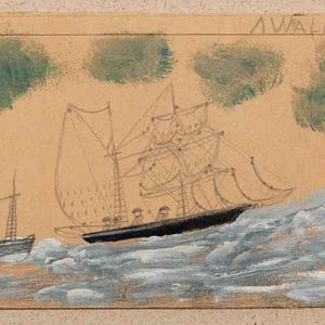 Sailing Ship and Steamer