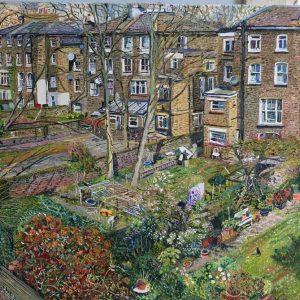 back gardens, islington