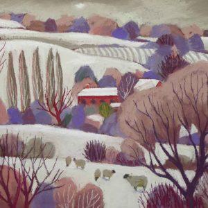 Winter in the Stretton Hills