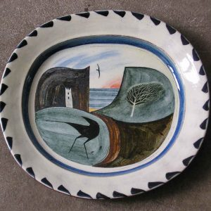 Oblong Dish -The Beach