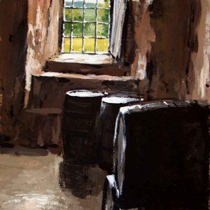Stokesay Castle: Barrels