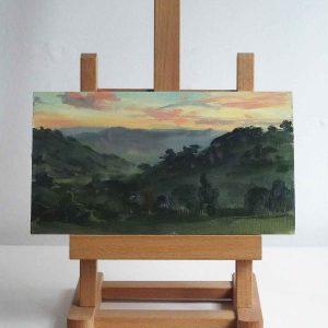 Rheli Valley Sunset, Nr Berriew