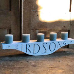 Birdsong Candlepiece