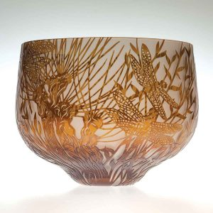 Willow Darters (Dragonflies Large Bowl)