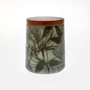 Lidded Pot - 'Pine'