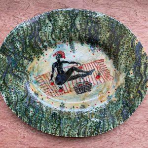 Garden picnic platter