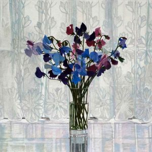 Sweet Peas and Net Curtains
