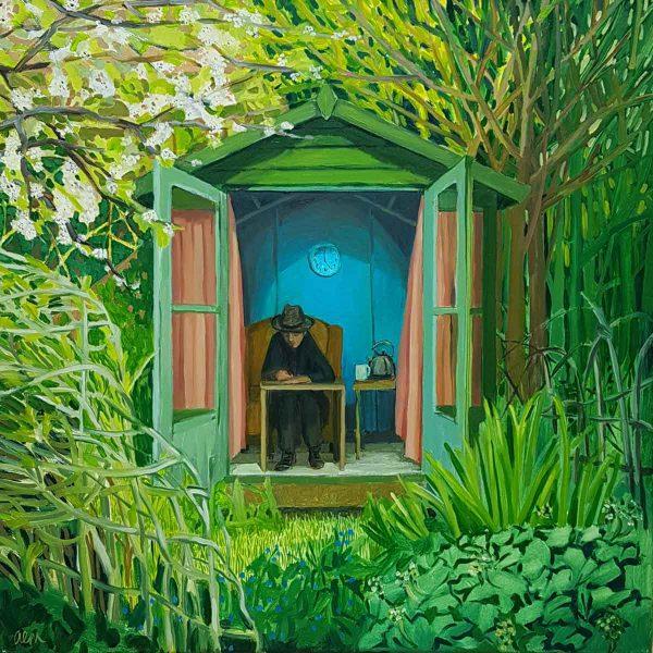 Blue Interior - Ann McCay