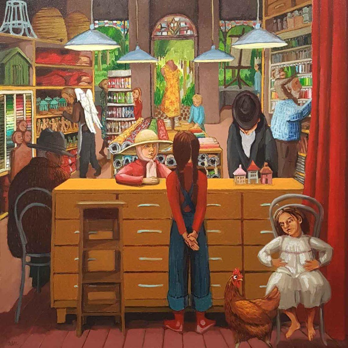 Inside the Shop - Ann McCay