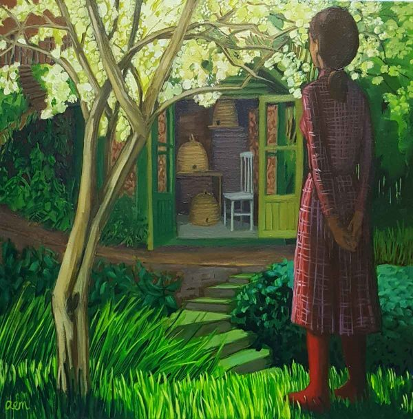 Looking Towards the Shed - Ann McCay