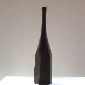 Black Still Life Bottle