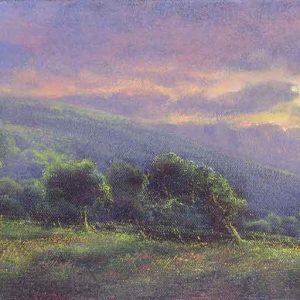 Last Sun Near Kinnerton Green