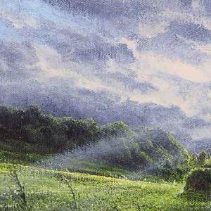 Late Sun, Brandhill Gutter