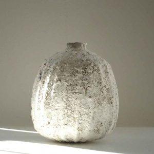 Fluted Poppy Pod Vase