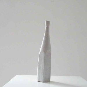 White Still Life Bottle