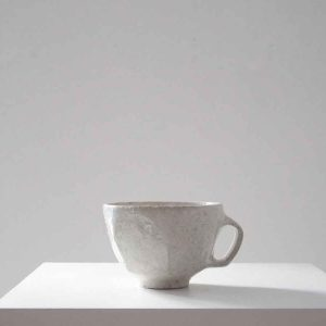 White Still Life Cup