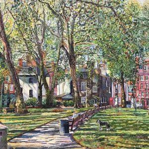 Mount Street Gardens, late summer