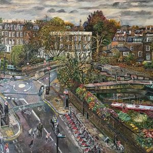 View of Regent's Canal, in Islington