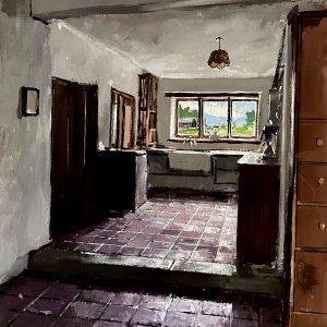 Rodd House. Sydney Nolan's Kitchen