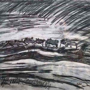 Gerlan drawing - study