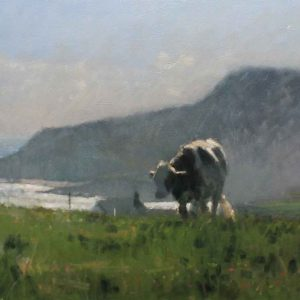 Cattle at the coast