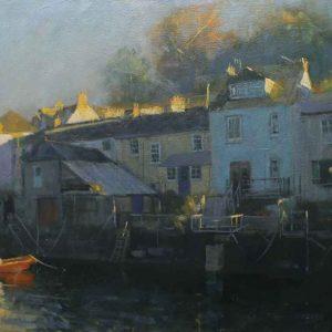 Riverside cottages, Fowey