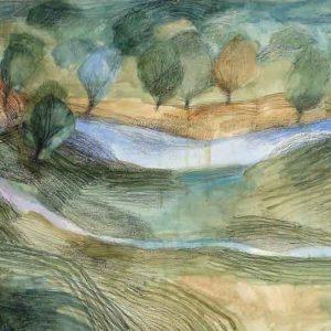 Bardic Landscape - fortification (Tirlun barddol - amddiffynfa)
