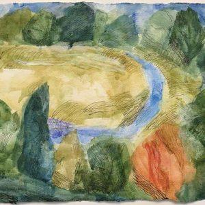 Journey past the fields (Ar daith heibio'r caeau)