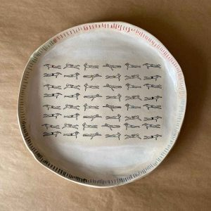 Large Swimmers Freestyle Plate