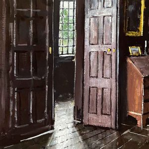 Doorway from the great hall