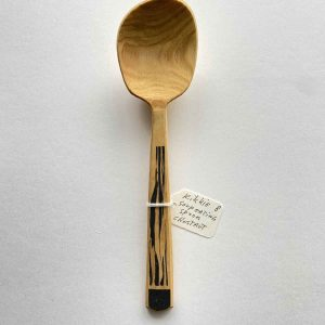 Rikkie freestyle chestnut eating spoon