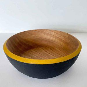 Olive ash serving bowl 2